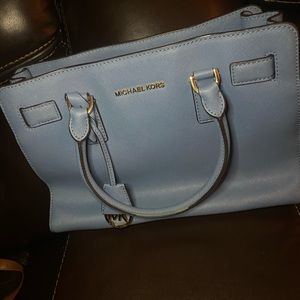 Small MK light blue purse!!